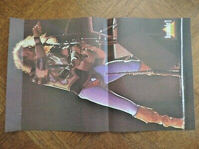 Poster J2 FORMULE 1 chanteur IAN ANDERSON JETHRO TULL