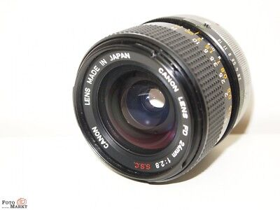 Canon Fd 2,8/24mm Ssc Lens Wide Angle Lens A1,T90,Ae-1,F1