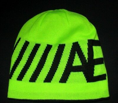 9845efd0b9b Mens American Eagle Outfitters Reversible Neon Green Beanie Hat One Size