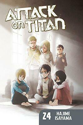 Attack on Titan 24 ; by Isayama, Hajime, NEW Book, FREE & Fast Delivery, (Paperb