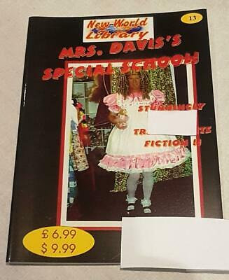 Mrs Davis's Special School Issue#13 Transvestism Fiction  From New World Library