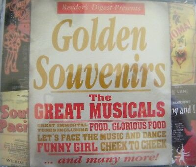 CD STILL SEALED Golden Souvenirs The Great Musicals 2 Discs Reader's Digest