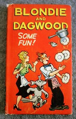 1949 BLONDIE AND DAGWOOD Some Fun NEW BETTER LITTLE BOOK Chic Young CARTOON