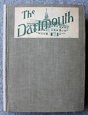 RARE 1899 1900 DARTMOUTH COLLEGE Newspaper BOUND Collection IVY LEAGUE Hanover