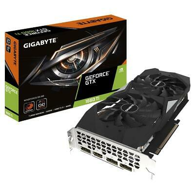 Gigabyte Nvidia GeForce GTX 1660 Ti Windforce OC 6GB Gaming Graphics Video Card