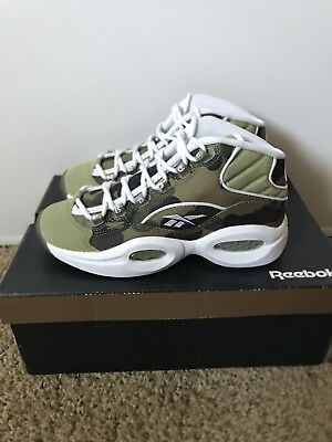 51dff79b90ed REEBOK X MITA x BAPE Question Mid Size 7 US A Bathing Ape -  301.99 ...