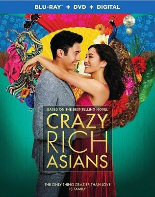 BLU-RAY Crazy Rich Asians (Blu-Ray/DVD) NEW Constance Wu