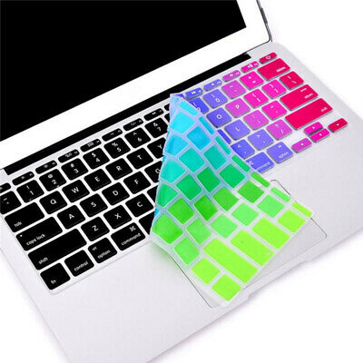 "Letter Sticker Keyboard Cover For Apple MacBook Air Pro Retina 13"" 15"" 17"""