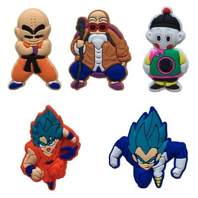50PCS DRAGON BALL-5 Shoe Charms Shoes Accessories  fit in Shoes Kids Gifts