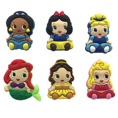 Mixed 50PCS Baby Princess Shoe Charms Shoes Accessories Kids Xmas Gifts