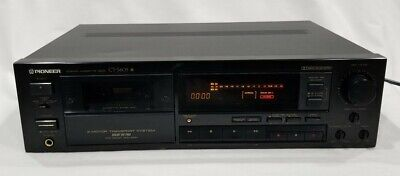 Vintage Pioneer CT-S605 Stereo Cassette Deck Dolby HX Pro