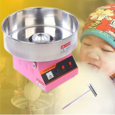 Electric Commercial Cotton Candy Machine Sugar Fairy Floss Maker Party Home 13KW