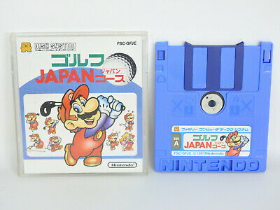 MARIO GOLF Japan COURSE No Instruction Nintendo Famicom Disk Japan Game dk