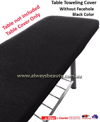 Towelling Cover Without Facehole No Hole for Massage Table Beauty Bed Salon Spa