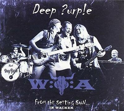 """From The Setting Sun """"In Wacken"""", Deep Purple, Audio CD, New, FREE & Fast Delive"""