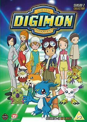 Digimon: Digital Monsters Season 2 [DVD], New, DVD, FREE & Fast Delivery