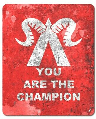 Gaming - You Are The Champion Mauspad Mousepad (23x19cm) #122337