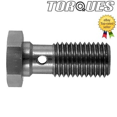 M10 x 1.0 Metric Stainless Steel Banjo Bolt 18mm Long