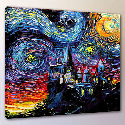 Harry Potter Hogwarts School Canvas Painting Home Wall Decor Art Poster Unframed