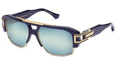 4930fbe7a2 DITA Grandmaster Four Sunglasses DRX2060B Navy-18K   Blue w  Gold Flash Lens
