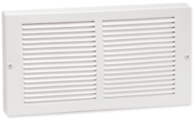 Hart & Cooley Steel Return Grille - White Multiple Sizes