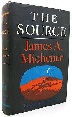 James A Michener THE SOURCE 1st Edition 12th Printing
