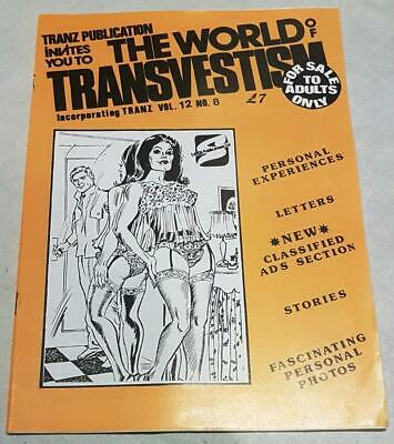 The World Of Transvestism Magazine From Swish Publications Vol 12 No 8