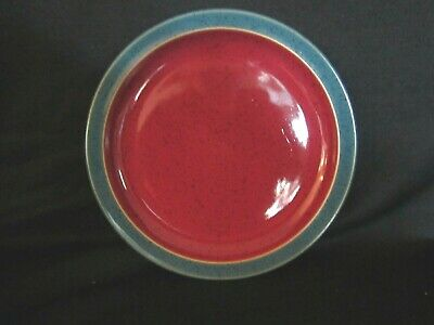 Denby HARLEQUIN - Salad Plate Green and Red - BRAND NEW