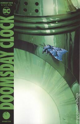 Doomsday Clock (DC) #7A 2018 Frank Variant NM Stock Image