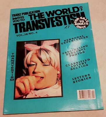 The World Of Transvestism Magazine From Swish Publications Vol 18 No 4