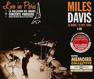 Live in Paris 1960 (4CD), Miles Davis, Audio CD, New, FREE & Fast Delivery