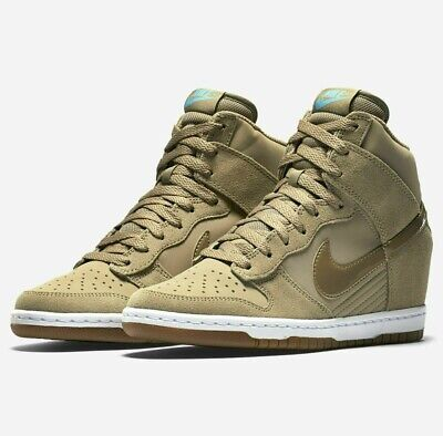 newest collection 6f181 0f724 Womens Nike DUNK SKY HI ESSENTIAL Shoes -Wedge -644877 200 -Sz 9 -