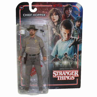 McFarlane Toys Action Figure - Stranger Things - CHIEF HOPPER (7 inch) - New