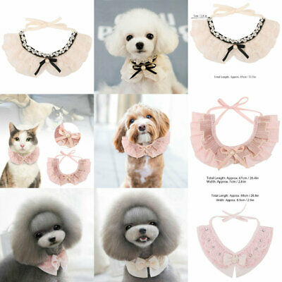 Dress Elegant Bowknot Dog Puppy Cat Necktie Bow Tie For Small Dog Pet Adjustable