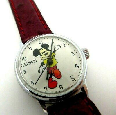 Micky mouse watch CENTAUR Walt Disney AVRONEL Production 9430 1008 jl121