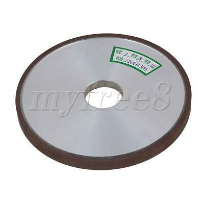 150mm Dia 10mm Thickness Diamond Straight Flat Grinding Wheel Grit 180