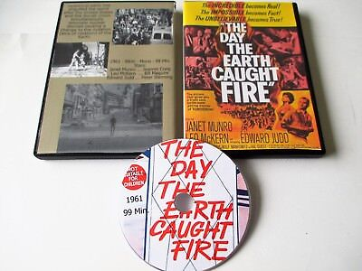 The Day The Earth Caught Fire (Dvd,1961) Janet Munro, Leo McKern, Edward Judd