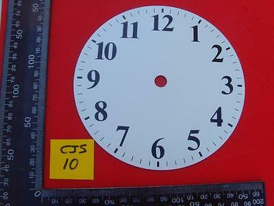 REF:cjsd#10   New hermle Replacement alloy white painted clock dial 139mm od