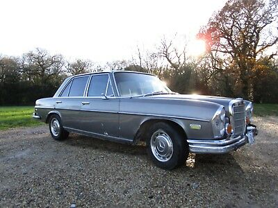 Mercedes W108 250s 1968 LHD Arizona car.  Running Project Car with UK V5