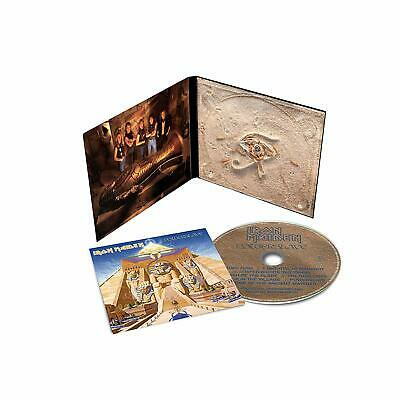 IRON MAIDEN POWERSLAVE CD (Remastered) (Released 29/03/2019)