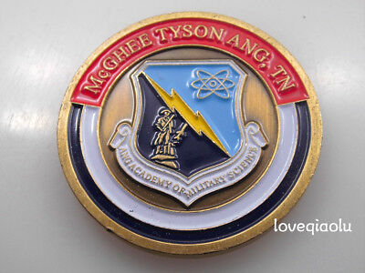 Ang Academy Military Science Promoted To 2Nd Lieutenant Challenge Coin