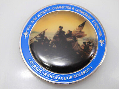 United States Air Force Academy Center For Character Development Challenge Coin