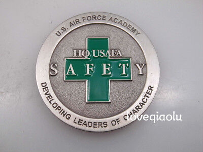 U.s.air Force Academy Hq Safety Developing Leaders Of Character Challenge Coin
