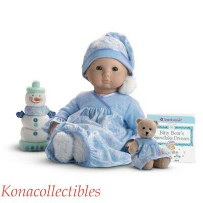 American Girl Bitty Baby LET IT SNOW SNUGGLE SET