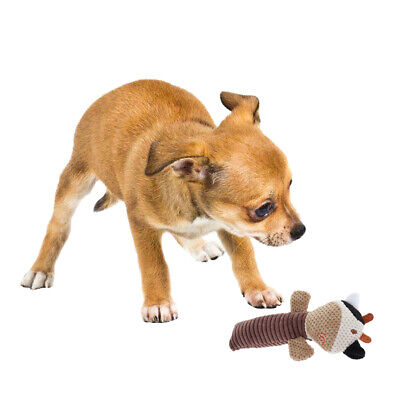 Cartoon Animals Rope Dog Sound Toy Puppy Chew Silent Vocalization Squeak Toy