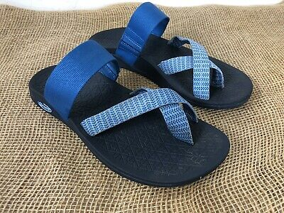 579b3f72d Chaco Women s Sandals Size 8 Tetra Cloud Bluebell Eclipse Blue Strap Shoes