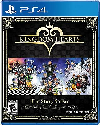 Disney Kingdom Hearts Story So Far Hd 1.5 + 2.5 Remix  2.8 Final Chapter Ps4 New