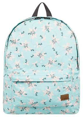 Roxy Sugar Baby Canvas 16L Backpack - Aquifer FLowers - New
