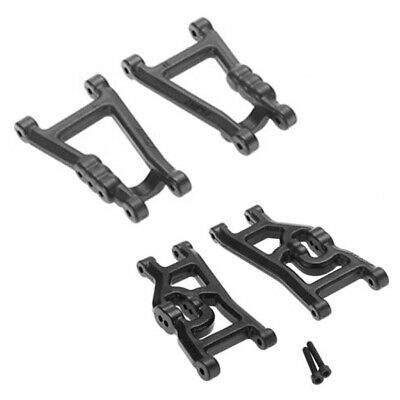 RPM 73282/80492 Front & Rear Heavy Duty A-Arms Combo Black : Traxxas Bandit