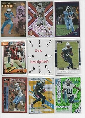 75ae92af TENNESSEE TITANS #2 *Serial #'d Rookies Jerseys Autos *EVERY CARD IS A GOOD  ONE*